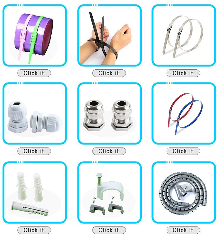 UL aprobado, Selflocking nylon 66 cable lazos de plástico/zip lazos/corbata secreto