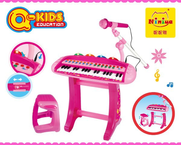 2017 new toys for kids,37key keyboard piano,cheap plastic musical instrument toy
