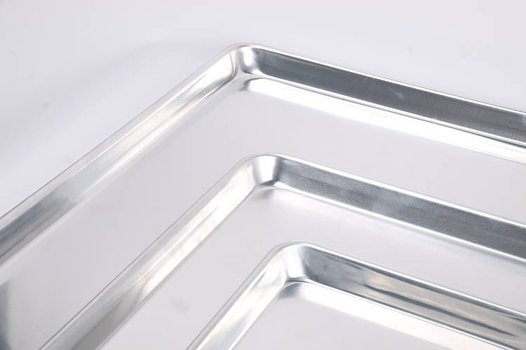 Hot Sale Portable Aluminum Bakery Baking Tray Bread Pan 325x240mm 450x325mm 650x450mm