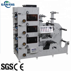 High saturation label printing machine with CE ISO SGS standard