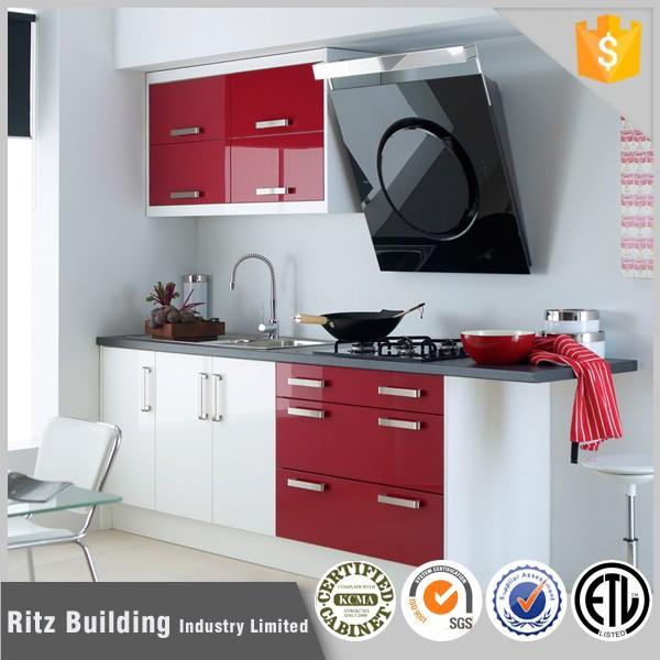 Ritz moderne kleine keuken kastontwerp, modern design kleine ...