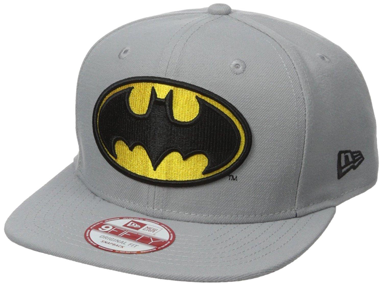 645b0811b927d Get Quotations · New Era Cap Men s Block Back Batman 9Fifty Snapback Cap