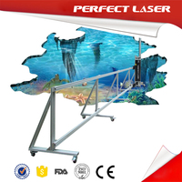 High Definition Murals Printing Equipment 3d wall printer