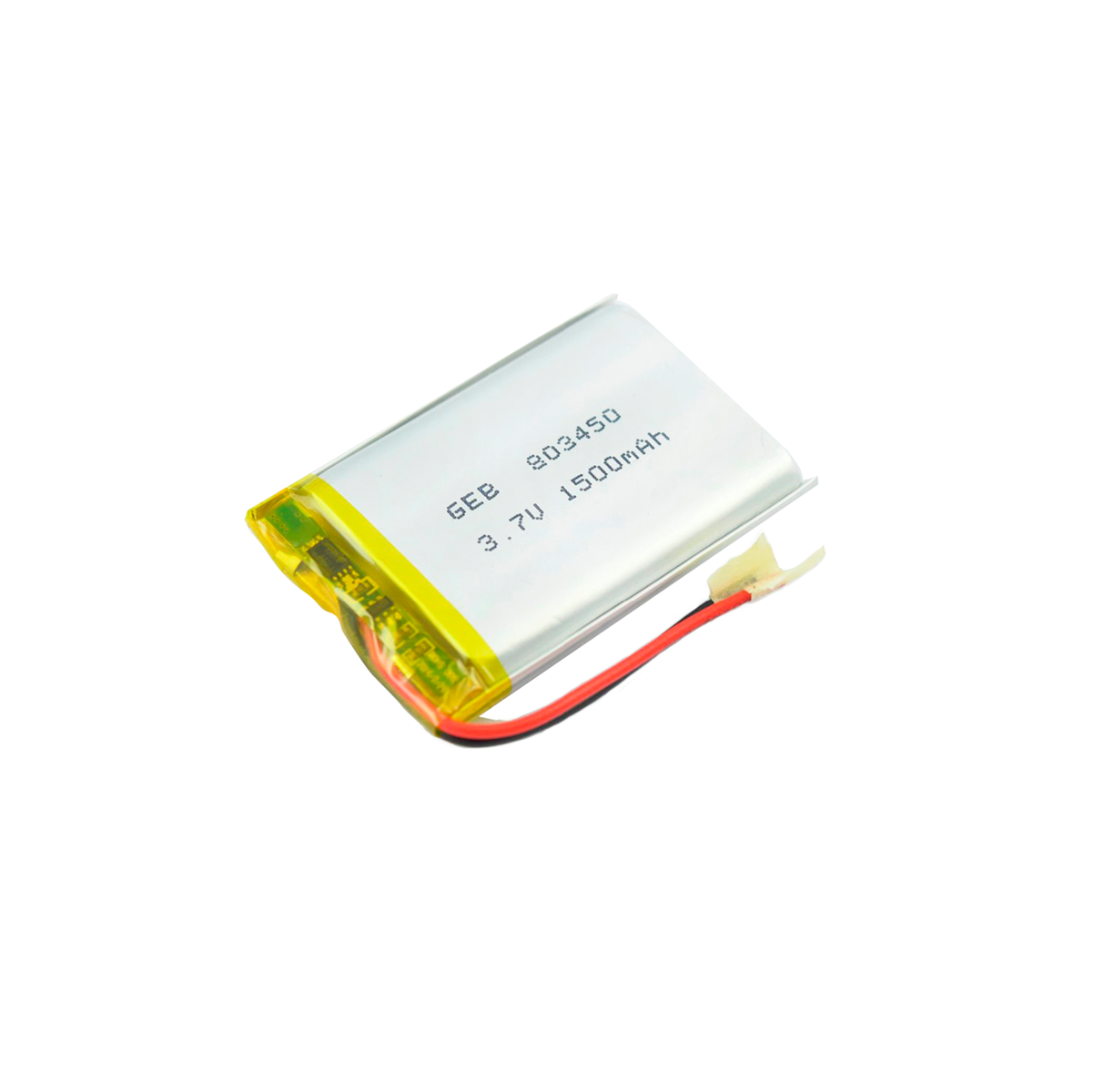 china factory direct sale 802035 3.7v 500mah 1.85wh lipo battery for battery pack