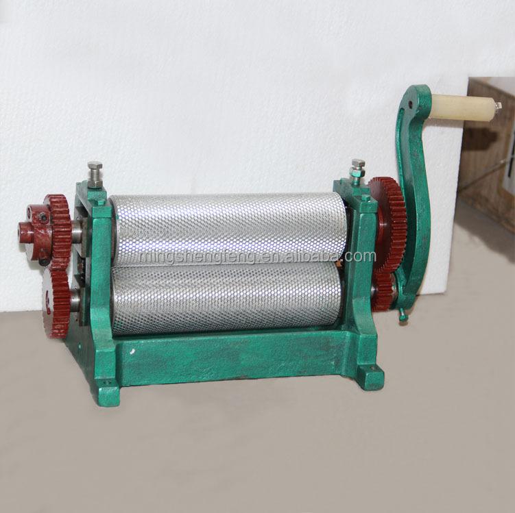 Factory Food Grade Beeswax Foundation Machine For Making Wax Sheets/Comb Foundation Roller Mill/Beekeeping Equipment Machine