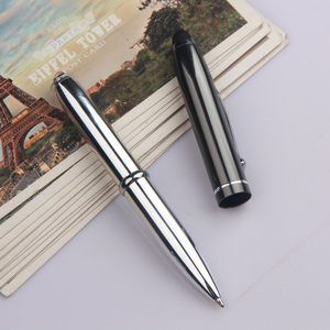stylus ball pen with logo print high quality advertising metal pen 3 in 1 Multi-function promotional LED light pen