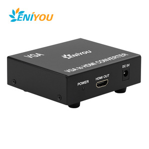 Manufacturer VGA To HDMI 1080P to 1080i hd sdi converter Output HD USB Video Cable Converter Adapter