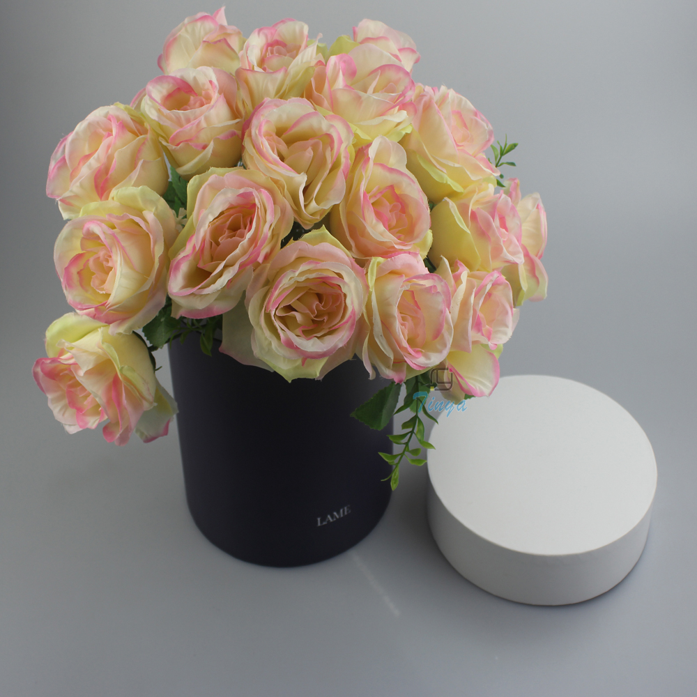 Round Hat Packaging Boxes For Cut Flowers