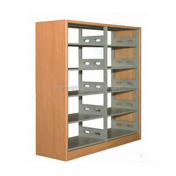 Commercial Book Display Shelf / Used Furniture In Sri Lanka Steel Bookshelf  Price