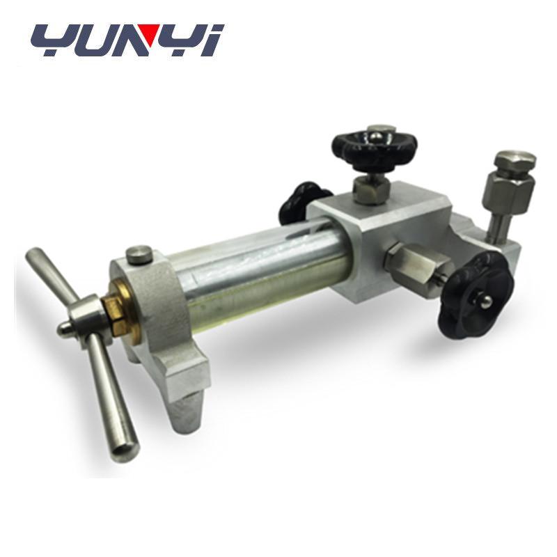 hydraulic hand pump pressure calibrator