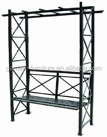 Wrought Iron Garden Arch With Bench, Wrought Iron Garden Arch With Bench  Suppliers And Manufacturers At Alibaba.com