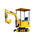 China supplier !! kids mini electric kids excavator rides! Amusement park rides kids toy games electric mini