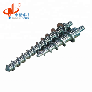 Cold Feeding Rubber Screw Barrel/Extruder Screw for PVC Wire Extrusion