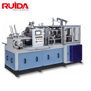 Ruida automatic paper cup making machine for coffee cup in good price