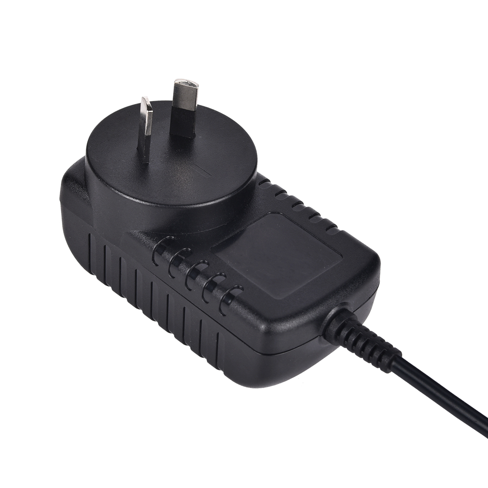 Efficiency level VI 12v 1a travel adapter with UL/CUL FCC TUV CE