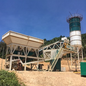 Small Capacity 75 m3/h Concrete Batching Plant