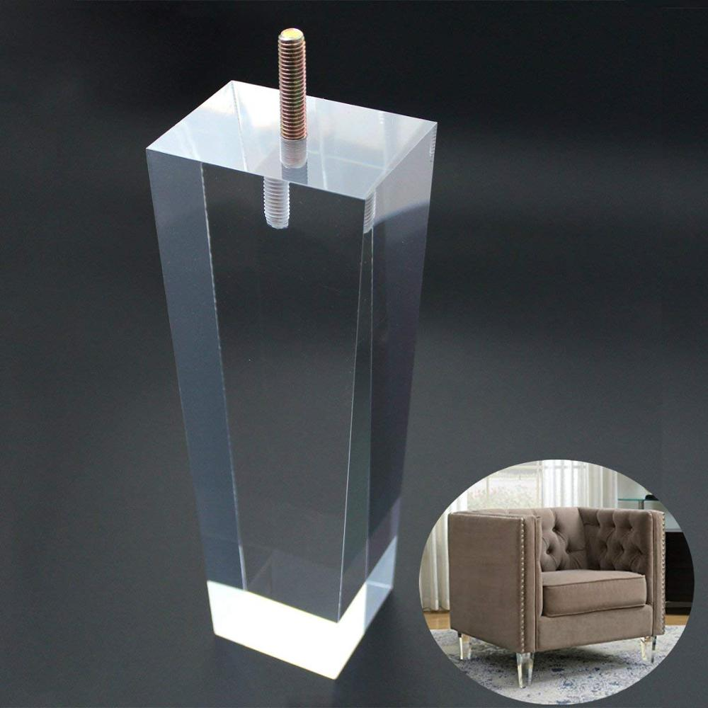 Wholesale custom acrylic furniture legs