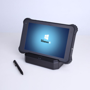All in one PC rugged tablet Windows 10 Computer with 5g Wifi Bluetooth RFID reader 2d barcode scanner