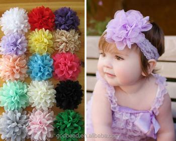 Chiffon Headdress Flower Headband Baby Hair Band Buy Baby Headband