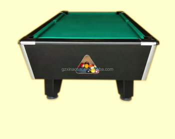 High Quality Solid Wood Professional One Piece Slate 7ft 8ft Coin Operated Pool Tables For