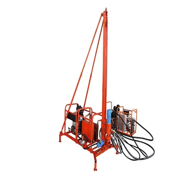 Factory supply hydraulic mountain drill machine