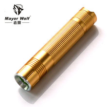 10W bright CREE led rechargeable torch light long distance flashlight