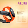 2017 new arrival products customized Y2 Plus waterproof Smart Bracelet