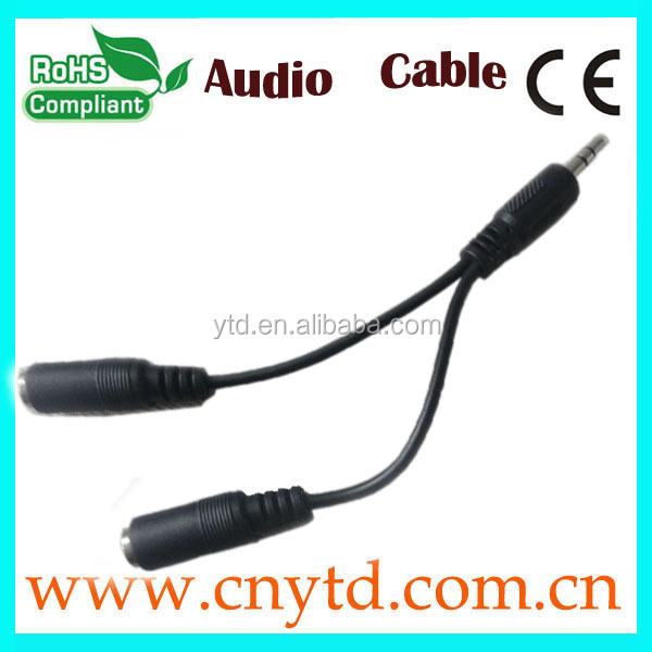 Lowest price hgh quality 3.5mm audio cable