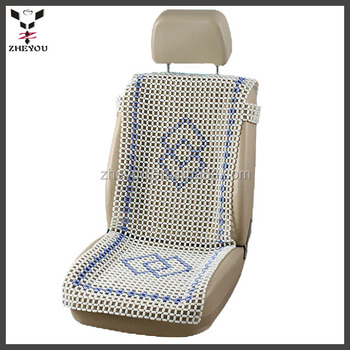 Hand Made Marble Beaded Car Seat Cushion Cover