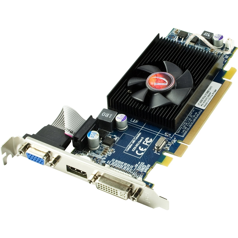 900308 VisionTek Radeon 4350 SFF DMS59 512MB DDR2 PCIe x1 Graphics Card