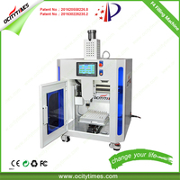 Ocitytimes Patent Small Size Cost Saving F4 CBD Oil Cartridge Filling Machine