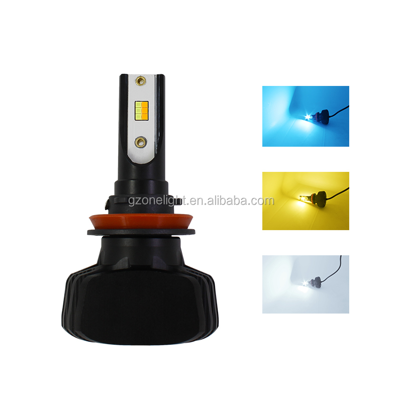 Ampoules automatiques en gros 32W CANBUS automobile T5 led phare h4 h7 h8 h9 h11 h13 9004 9005 9006 automatique led phare