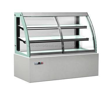 Mini Cake Display Freezer Bakery Countertop Showcase