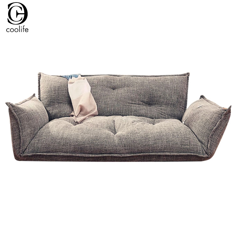 Modern Design 5 Position Adjustable Lazy Japanese Style Furniture Living Room Reclining Folding Floor Sofa Bed Couch