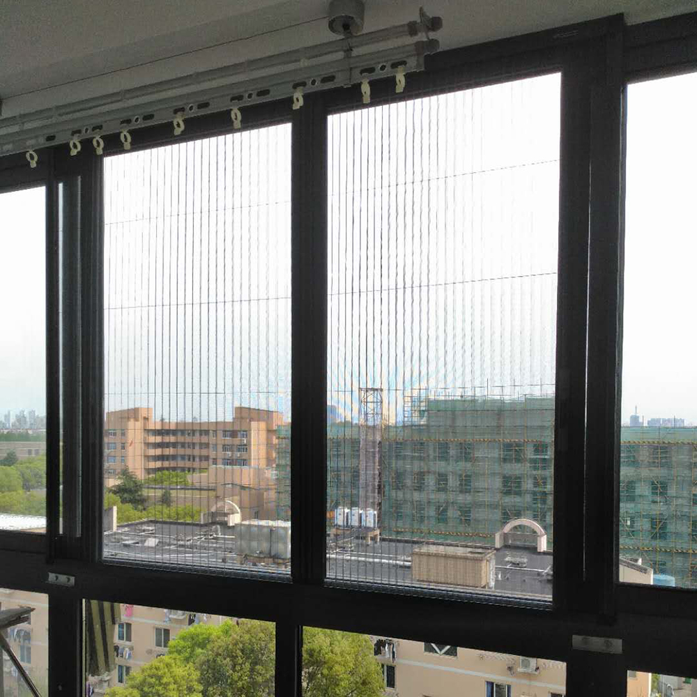 China Factory Custom High Quality Aluminum Folding Window Screen