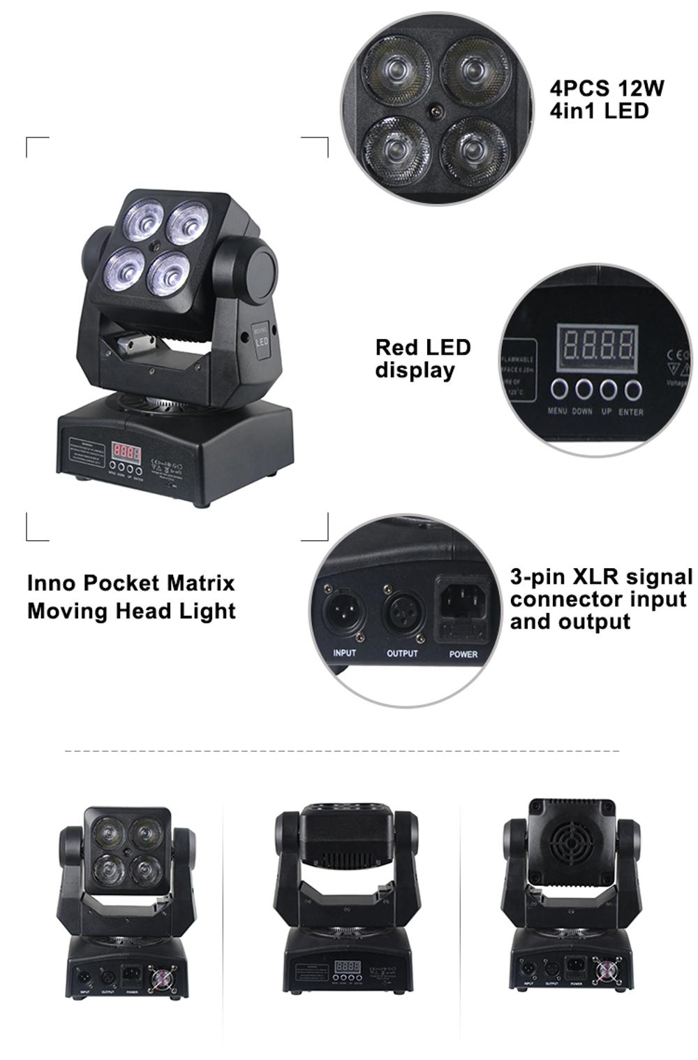 LED Wash Moving Head Light