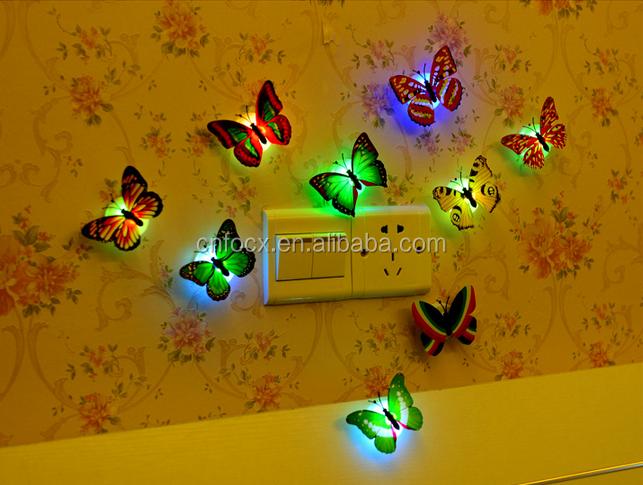 Baby Slaapkamer Decoratie : D muur papier stok op baby nachtlampje beste decoratie slaapkamer