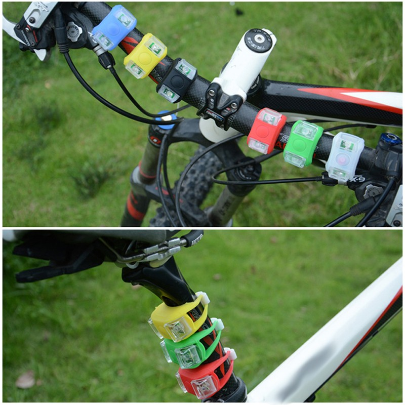 2019 Led Bicycle Safty Warning Flashlight Strobe Tail Rear