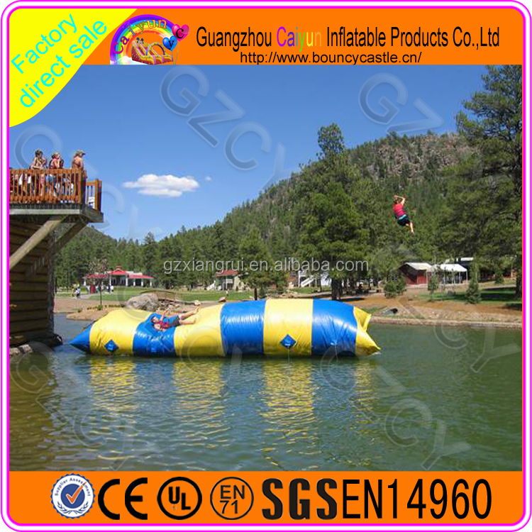 Inflatable water blob launch pad/inflatable water blob for sale for rental