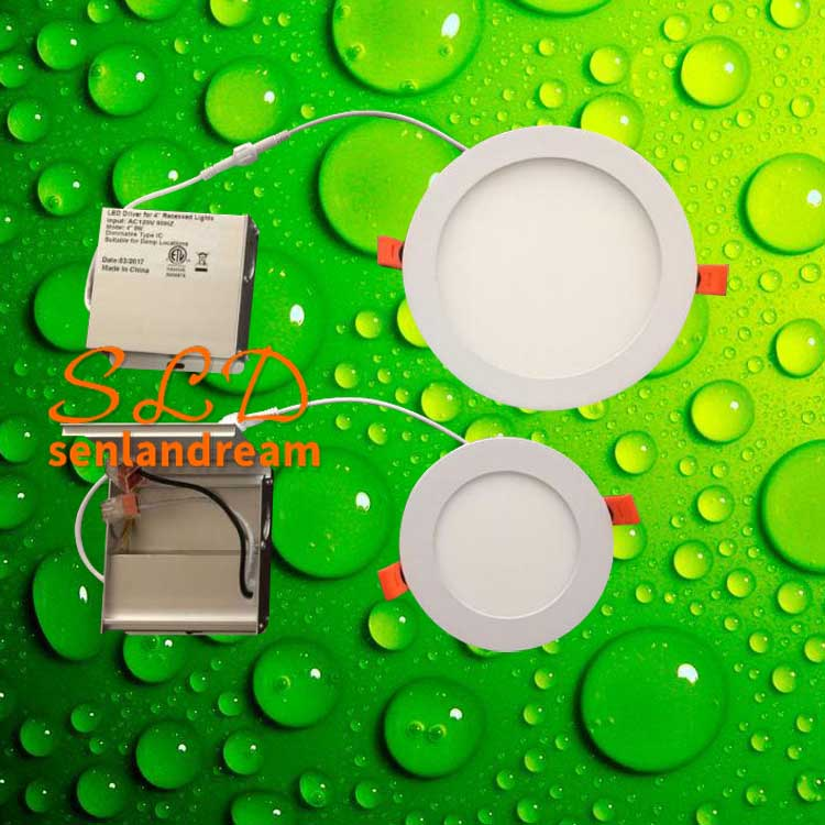 6w 9w round led panel light 12w round led panel light with junction box