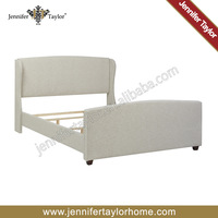 Contemporary modern bedrooms solid pine adjustable bed
