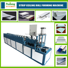China foshan Aluminum slat shutter ceiling tile making machine cold roll forming machine