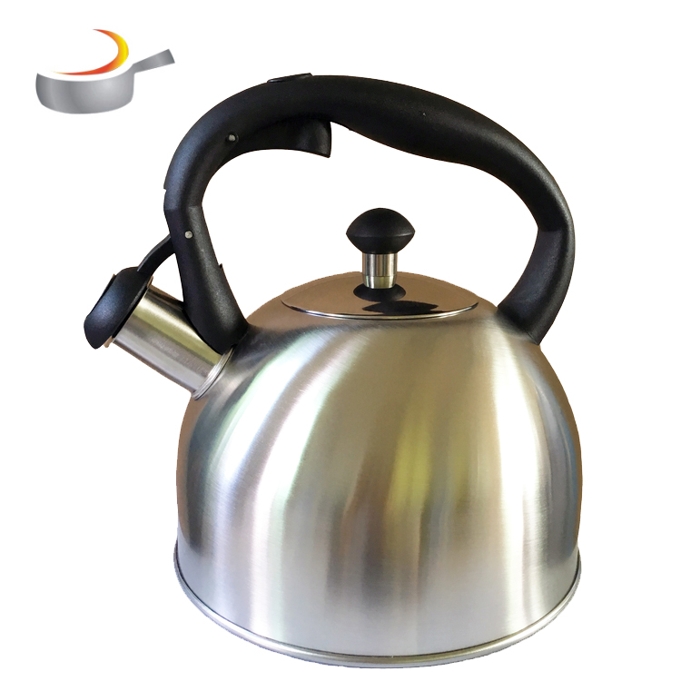china  manufacturer SS kettle tea pot whistling teakettle with color paint