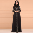 Middle East national long gown dress islamic clothing long skirt dress muslim women abaya