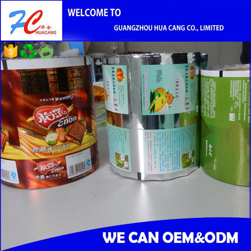 2017 Hot sale ! Alibaba China supplier potato chips snacks packaging plastic lamination roll film