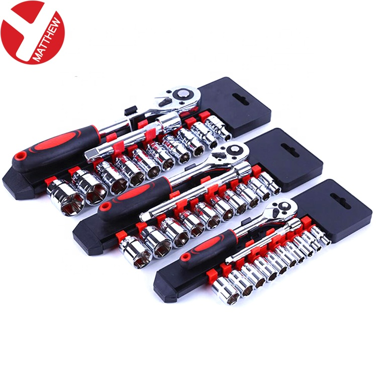 Rapido piccolo Reverse Ratchet Wrench Set con 12 pcs Maniche
