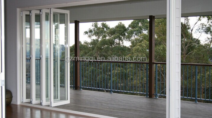Aluminum Balcony Folding Accordion Door With Unique Design Buy