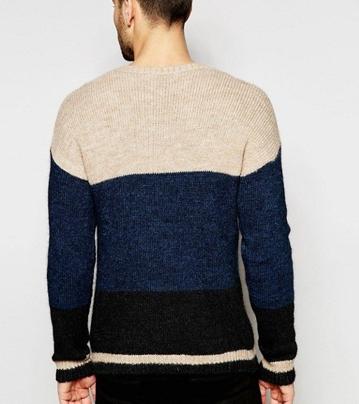 2018 Latest Fashion Designs Pullover Colorful Sweaters Men Woolen