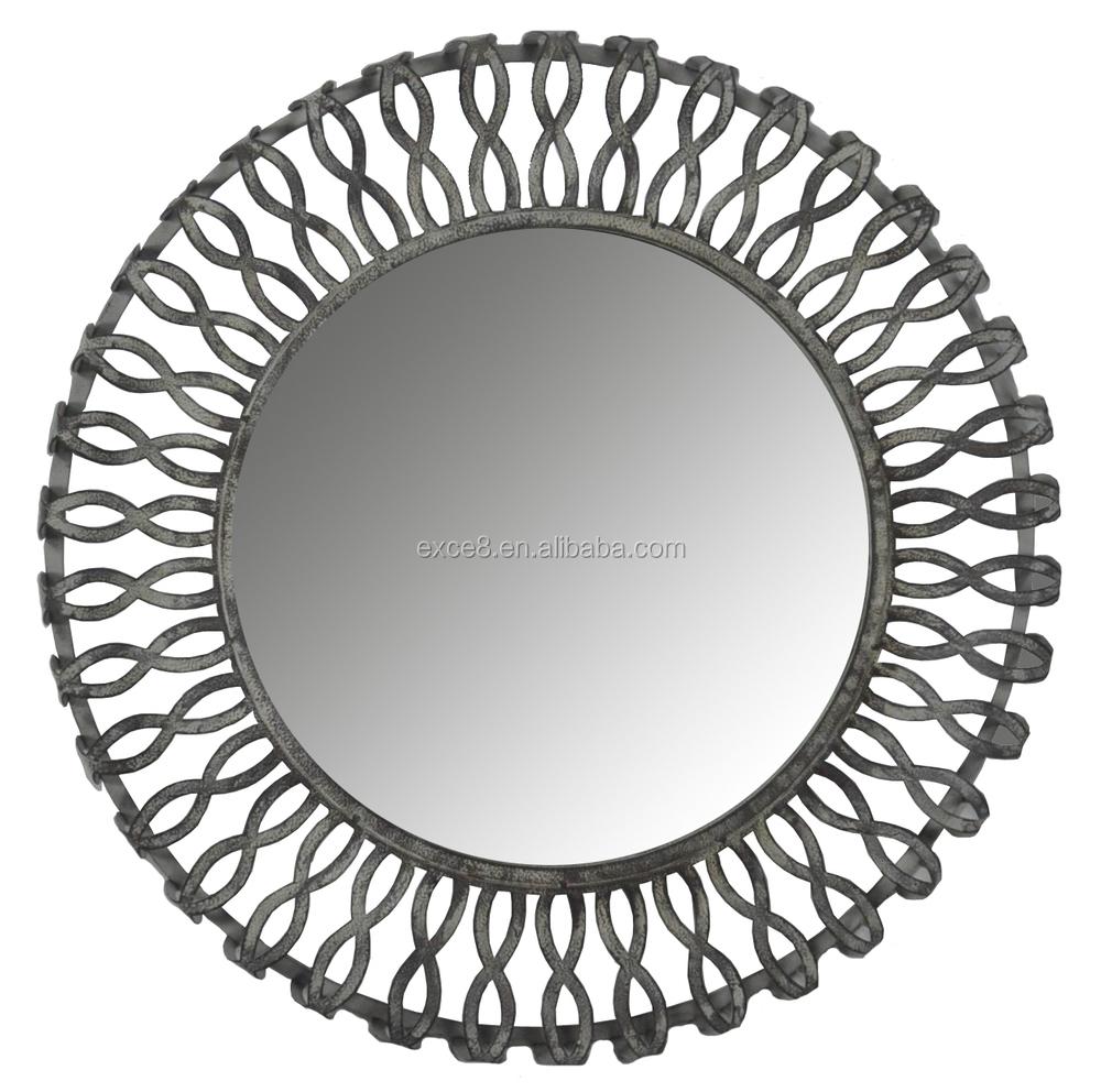 Vintage german handmade round frame