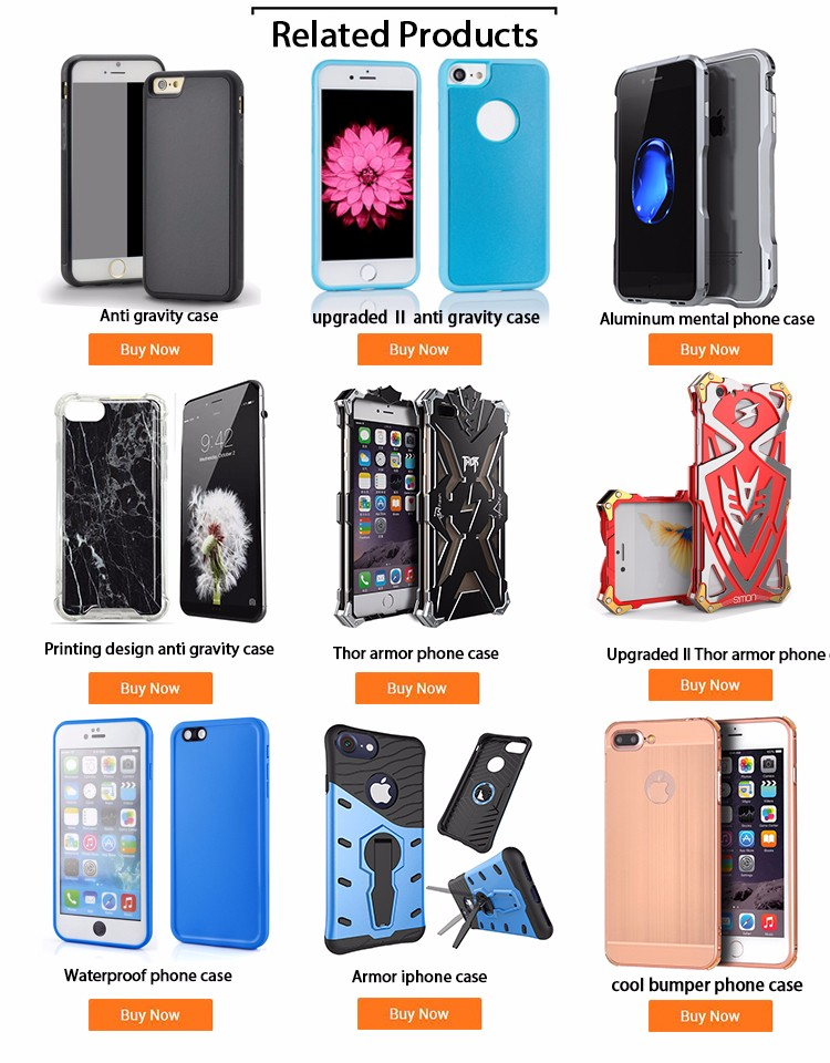 2017 cool design custom aluminum metal case for iphone 6